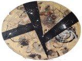 Gemälde Desertstorm von kooZal - Acrylbilder und Collagen Mischtechniken