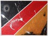 Gemälde Germany 7-1 von kooZal - Acrylbilder und Collagen Mischtechniken
