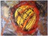 Gemälde Nova von kooZal - Acrylbilder und Collagen Mischtechniken