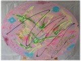Gemälde Peacemaker von kooZal - Acrylbilder und Collagen Mischtechniken